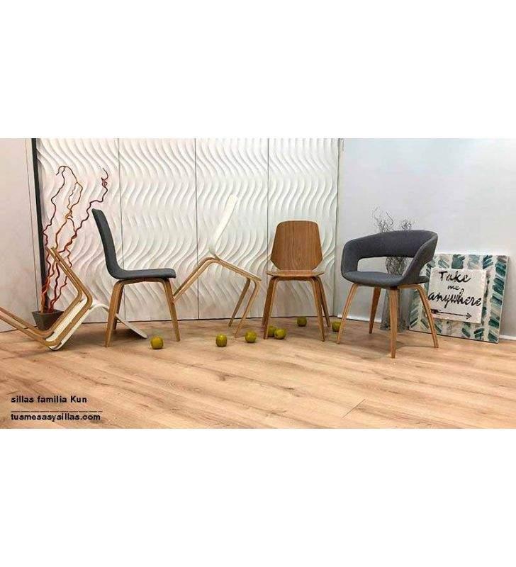sillas-brazos-roble-tapizadas
