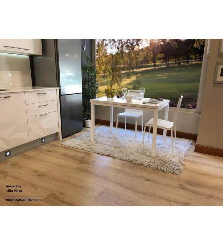 mesas-blancas-baratas-extensibles