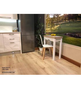Table de cuisine petite extensible en format livre Arpa