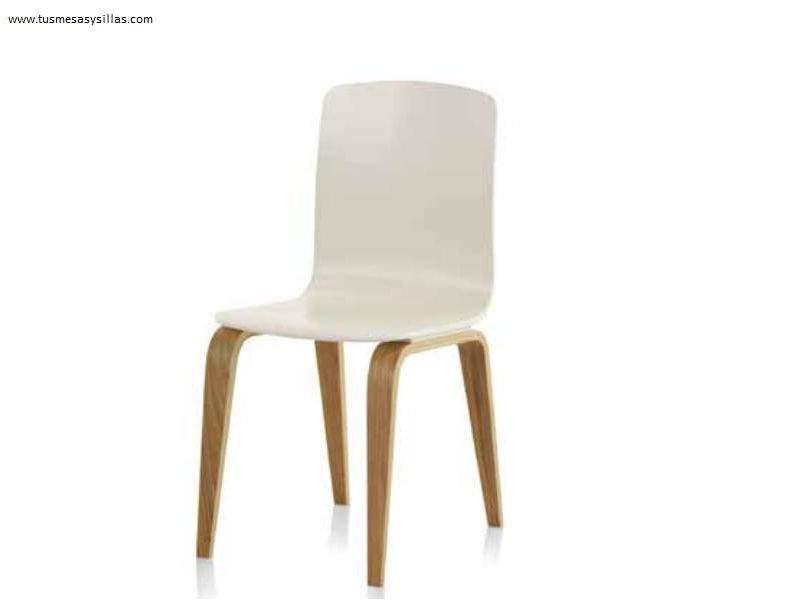 silla-blanca-roble-barata