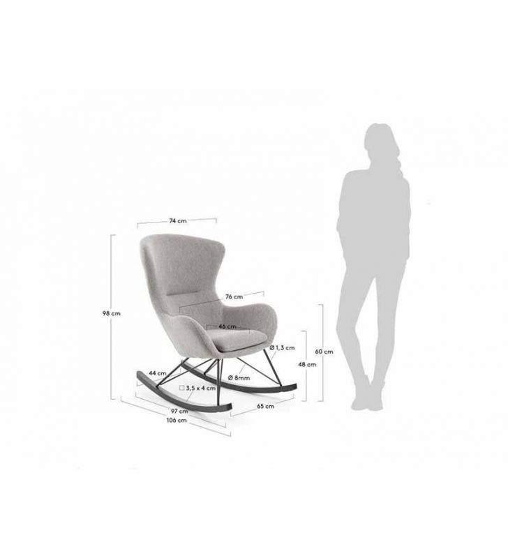 silla-mecedora-tela- con brazos