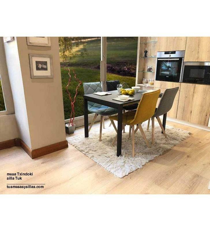Mesa Punto 120x90 extensible ondarreta para cocina y comedor