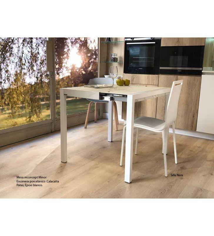 mesas-pequeñas-extensibles-calacatta