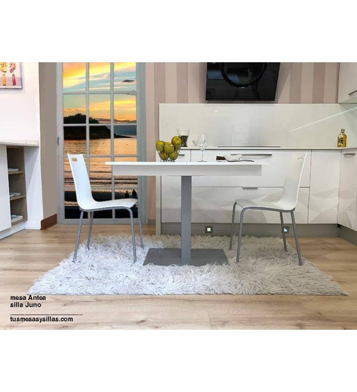 Mesa-extensible-Antea-aluminio