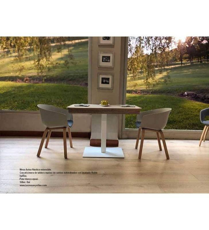 Mesa-extensible-madera-pie