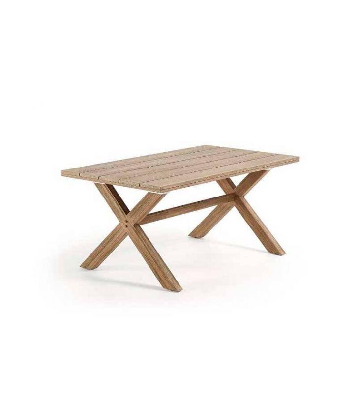 Mesa-terraza-madera-jardín