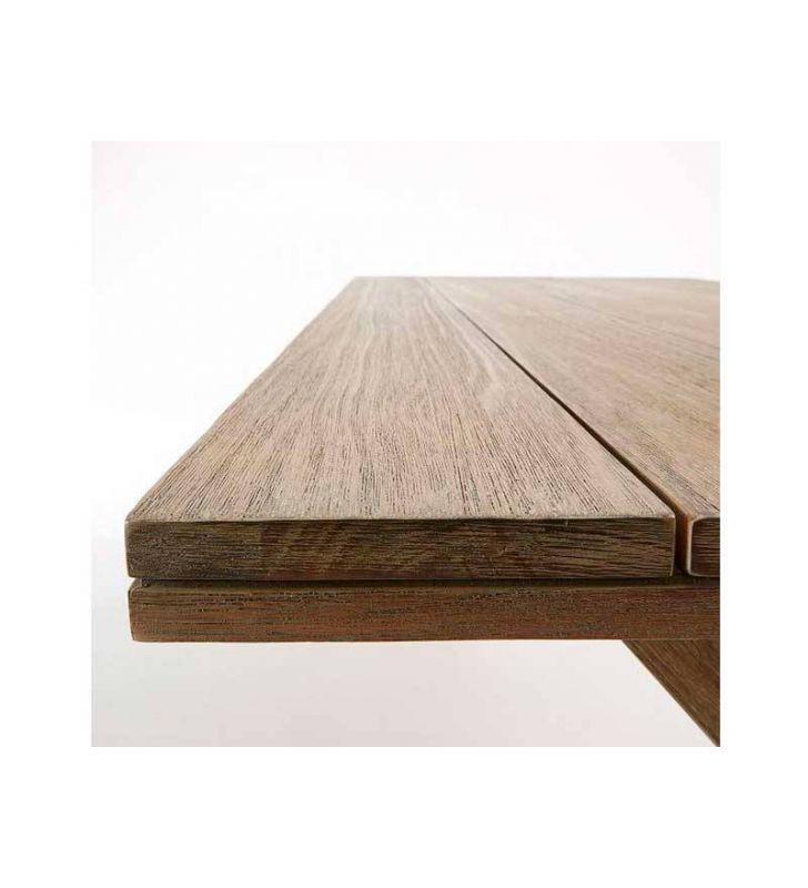 Mesa terraza y jardín madera eucalipto Brilliant