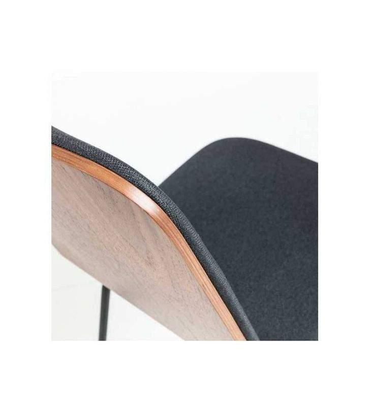 Silla-retro-metal-negro