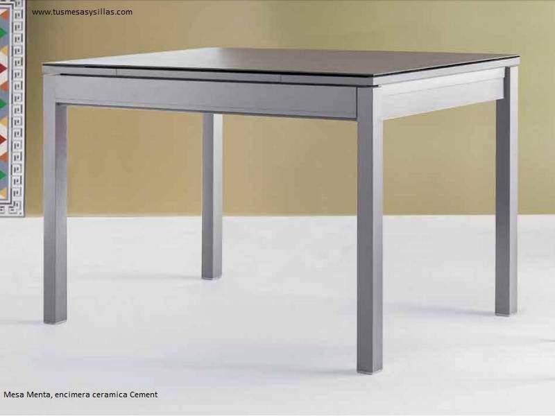 Menta, table avec tiroirs style nordique
