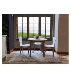 Table fixe ronde de style classique Atxea