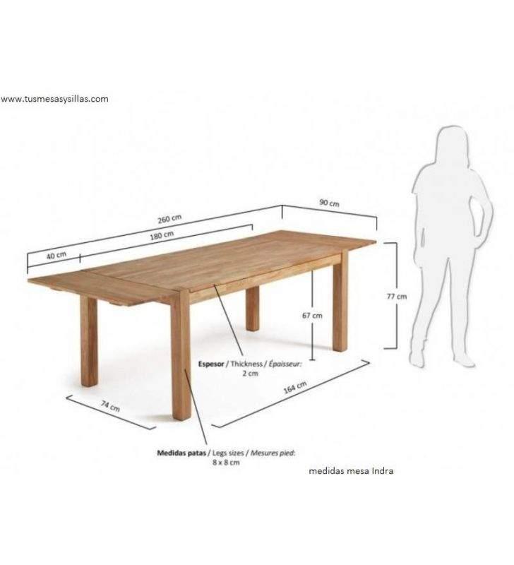 Mesa de comedor en roble vintage