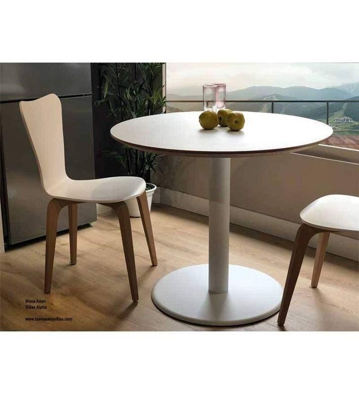 Table ronde comptoir Adan en Fenix