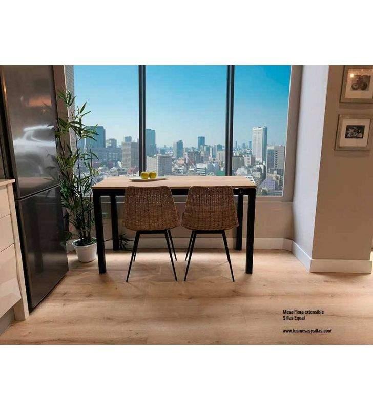 Mesa de cocina dos extesiones barata