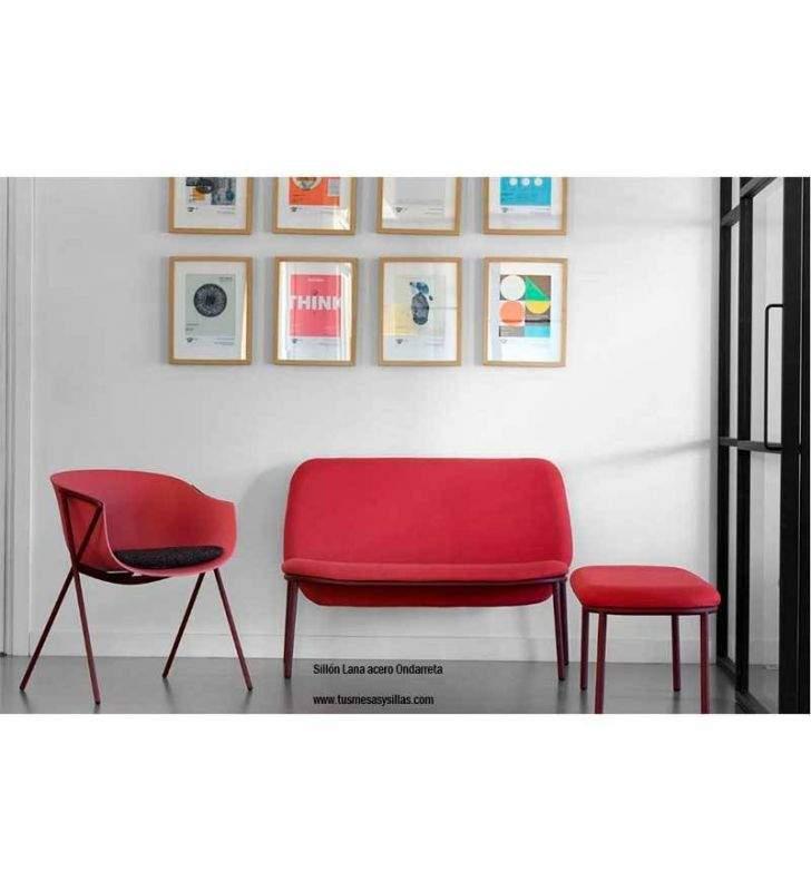 silla-banco-acero-tapizado