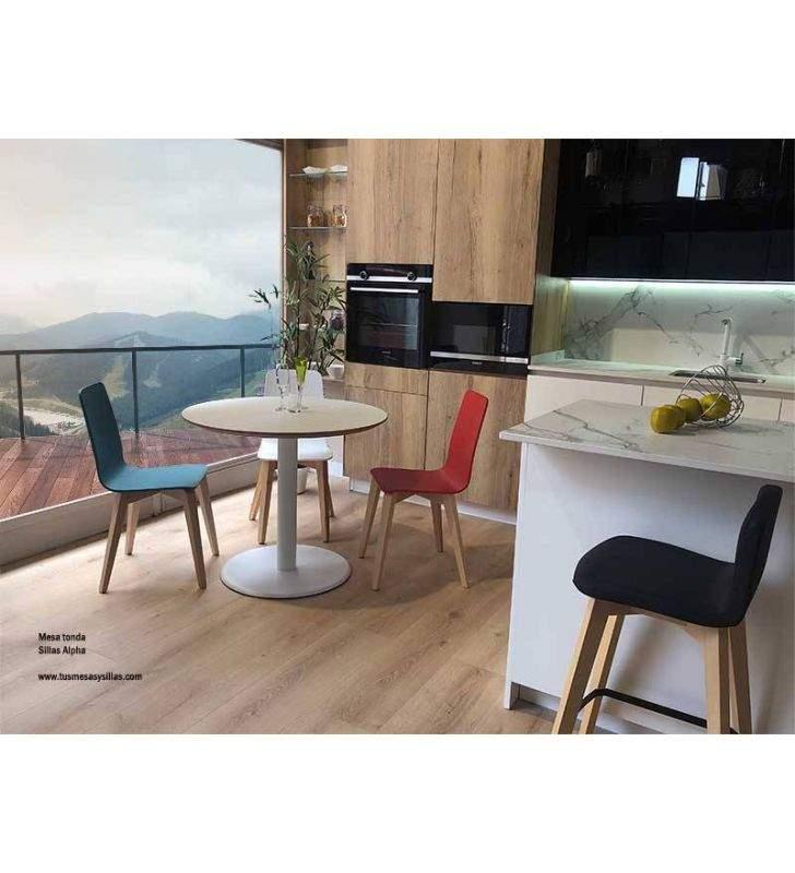 sillas-cocina-madera-laca