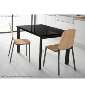 silla-moderna-negro-madera