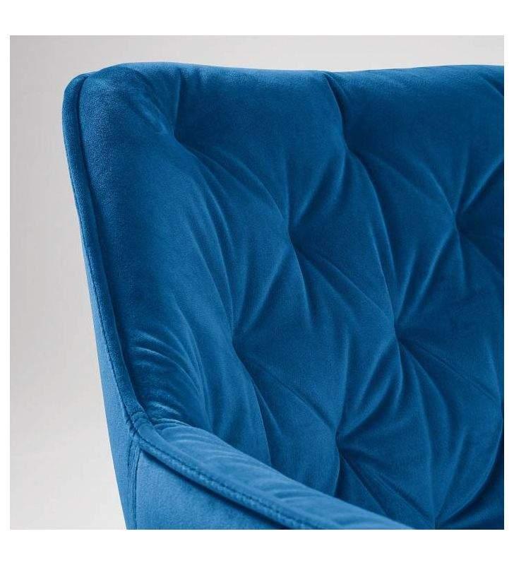 Chaise rembourrée de style classique avec accoudoirs Mulder