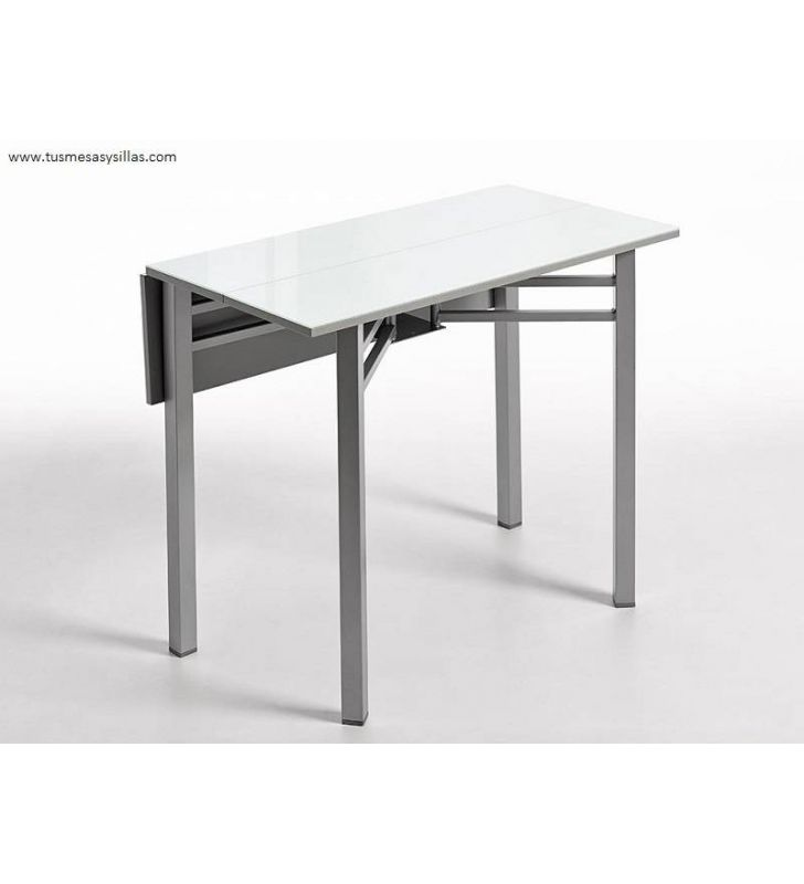mesa-estrecha-cocina-cristal