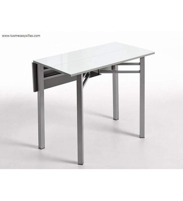 Table étroite avec des ailes pliantes Lop 95x25 cm