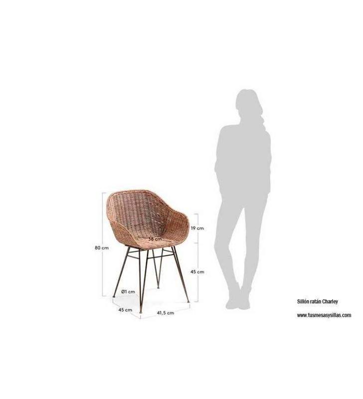 sillón-ratan-pequeño-terraza