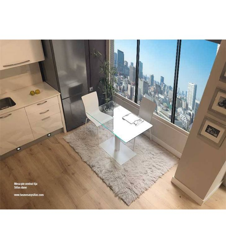 Mesas-cocina-pequeñas-cristal