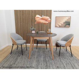 Mesa para cocina o comedor de estilo nórdico