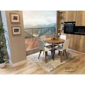 Beti mesa de diseño y estilo industrial vintage