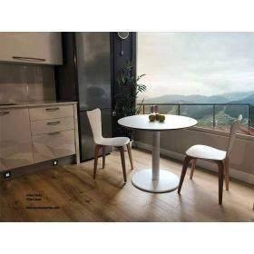 Mesa de cocina o comedor con encimera de Fenix