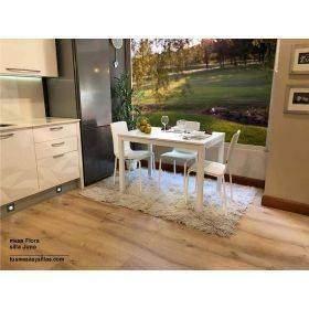 conjunto de mesa y sillas de cocina o comedo