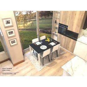 Mesas de cocina extensible y fijas en una amplia gama de medidas, blancas