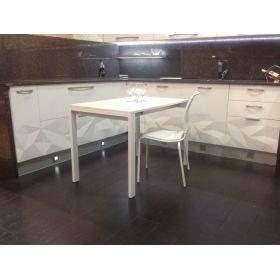 mesas de cocina fondo de 70 cm, distintos largos a elegir