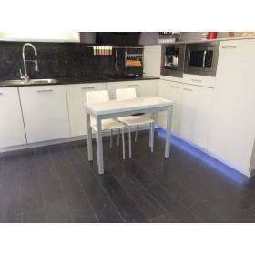 Mesas pequeñas o estrechas para cocinas fijas y extensibles, baratas