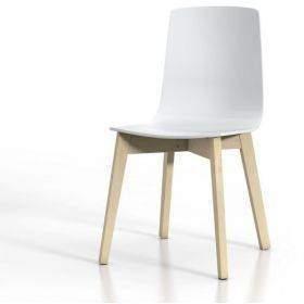 Precio sillas de cocinas blancas de madera, estrechas, tapizadas