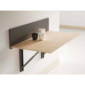 Mesa abatible escritorio auxiliar de pared