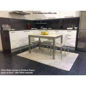 Mesas cocina fijas o extensibles con doble extension 2