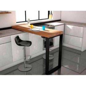 Bar/ Tables hautes de cuisine sur-mesure, cancio vimens