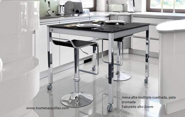 Mesa cocina Multipla fija, extensible, barra