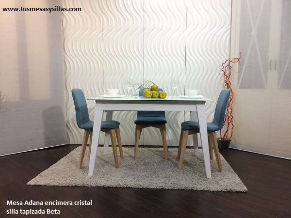 Table Adana. Fixe/extensible