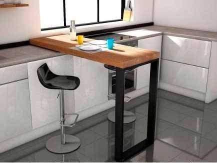 Tables hautes de cuisine