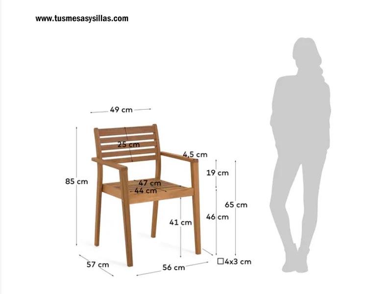 Medidas-silla-hanzel-madera