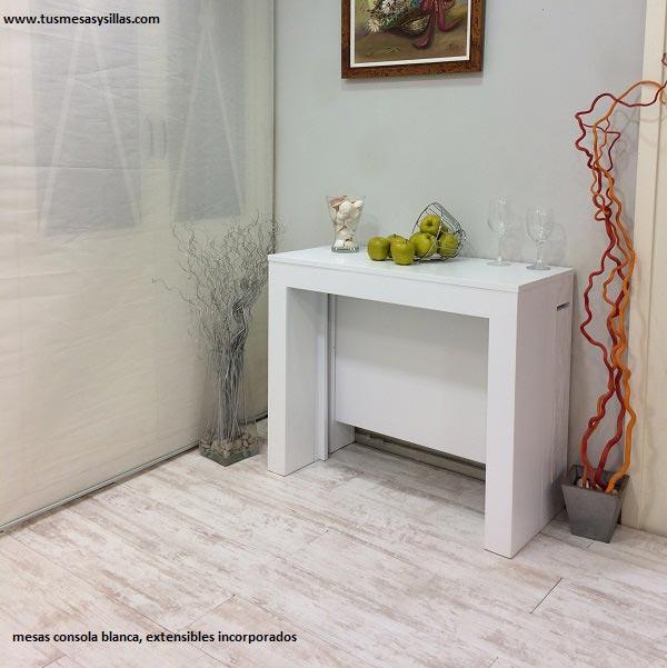 mesa-consola-extensible-blanca