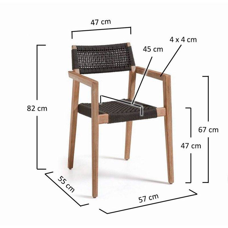 mesures-chaise-terrasse-empilable