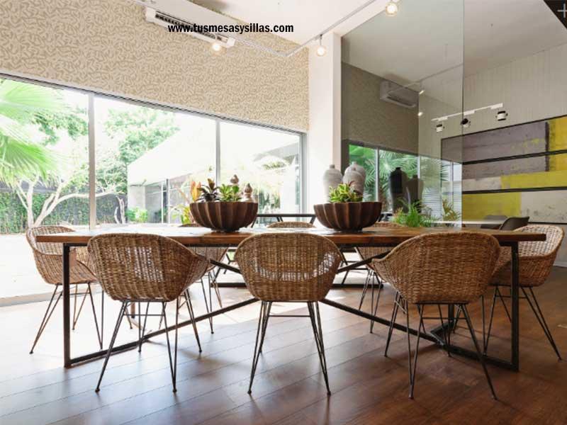 sillas de comedor tipo silloncitos