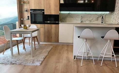Mesa de cocina a medida